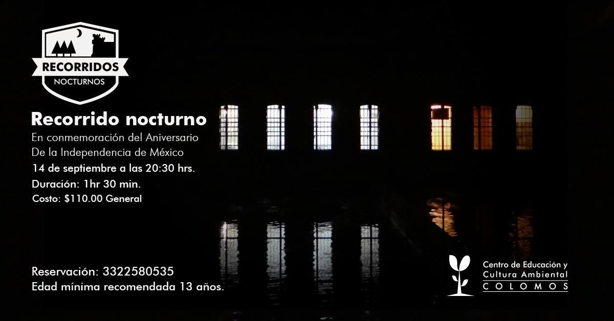 Recorrido Nocturno: Aniversario de la Independencia de México