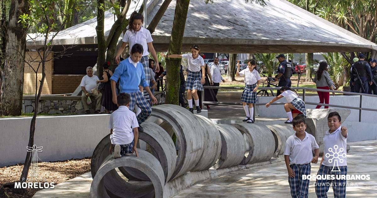 El Parque Morelos vuelve a latir en el centro de Guadalajara